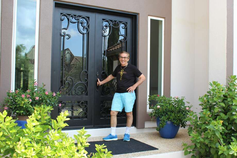 Dr. Arturo Sidranksy and his family have lived in their Dominion home for five years. Photo: Lisa Harrison Rivas
