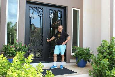 Dr. Arturo Sidranksy and his family have lived in their Dominion home for five years.
