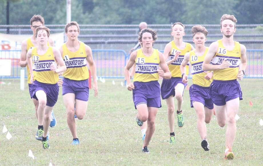The Frankfort Panthers begin their cross country season at the Moss Invitational on Friday at Benzie Central. Photo: Robert Myers