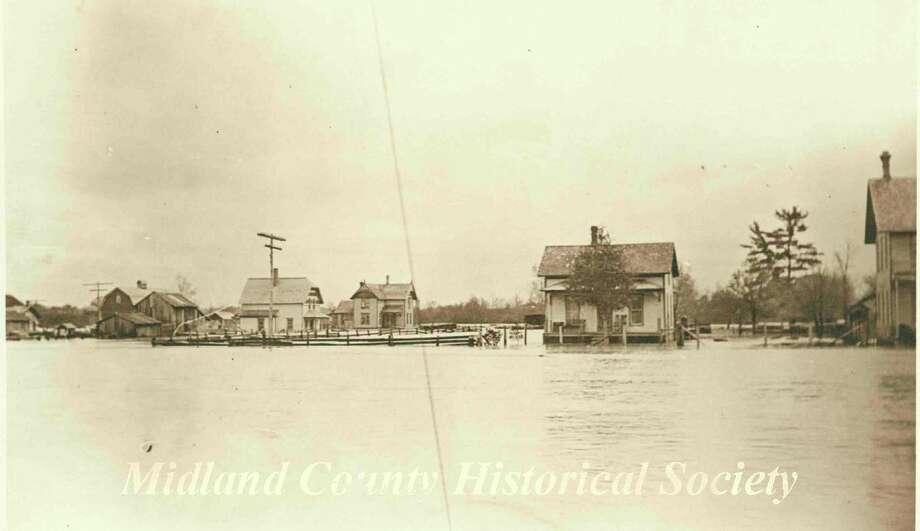 Fourth Ward flood of 1893. (Photo provided)
