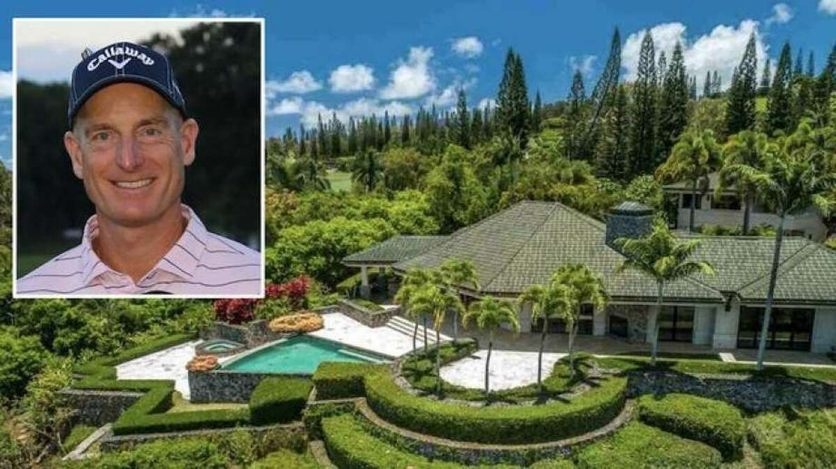 Pro golfer Jim Furyk is taking another swing at selling his lovely home in Lahaina, HI. The Maui mansion is available for $4.7 million. The spectacular island getaway has come on and off the market for over a decade, with an asking price of as much as $7.5 million back in 2008.