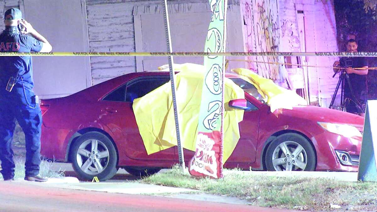 One teenager was killed and three others injured after a suspect opened fire at a vehicle on the East Side Sunday night.