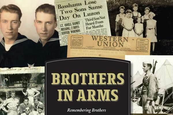 "Kevin Callahan of Norwalk has written ""Brothers in Arms: Remembering Brothers Buried Side by Side in American World War II Cemeteries,"" which was released July 2020."