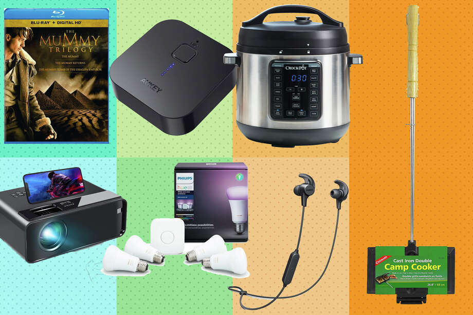 For more deals and coupons, visit the SFGate Coupon page! Photo: Aukey, Crock Pot, Universal Pictures, Coghlan / Rainer Grosskopf