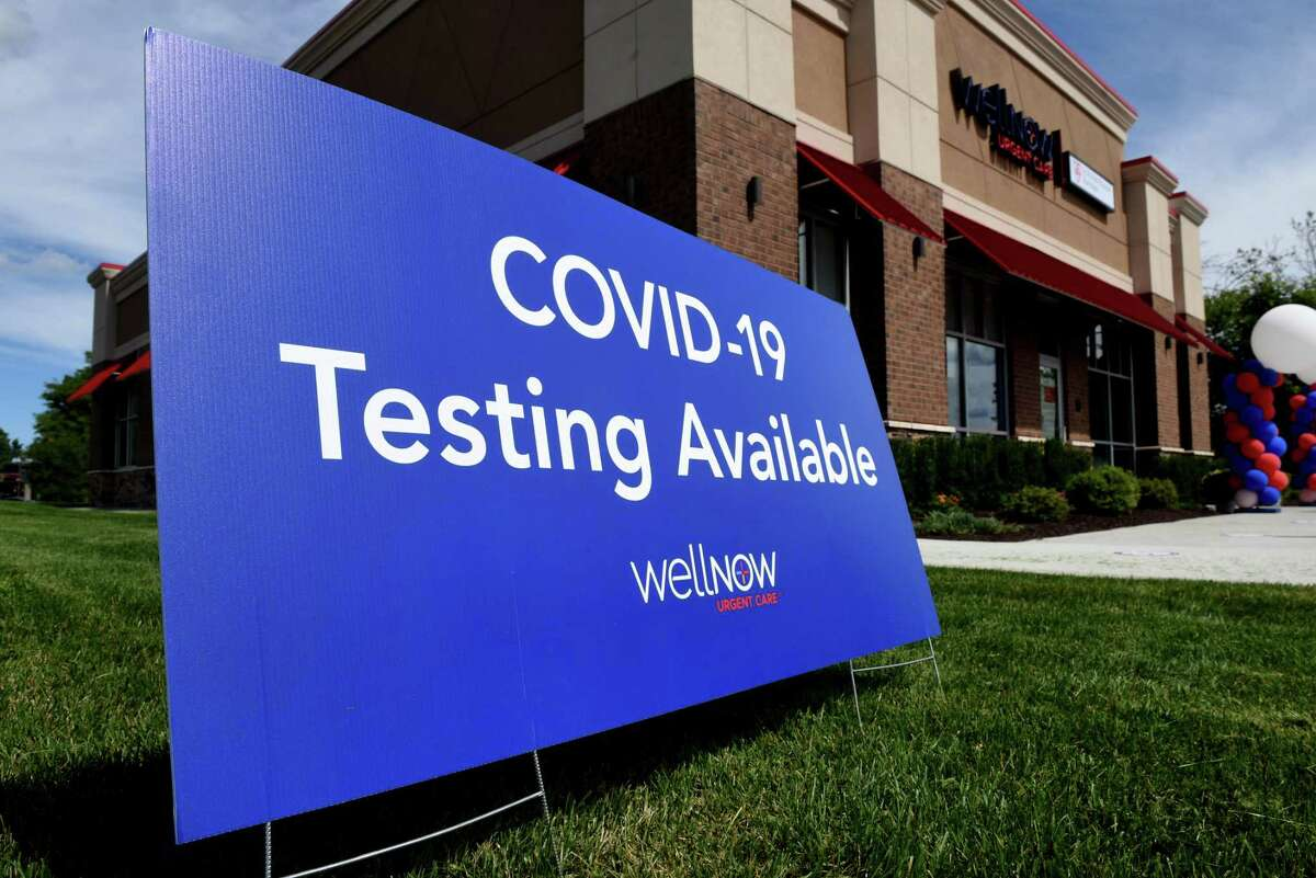 COVID-19 testing is available at a new WellNow Urgent Care center affiliated with St. Peter?•s Health Partners on Monday, Aug. 31, 2020, at Latham Center on Route 9 in Colonie, N.Y. The facility offers health care services for ailments such as sprains, burns, colds and allergies, while also providing on-site X-rays, lab testing and physicals. (Will Waldron/Times Union)