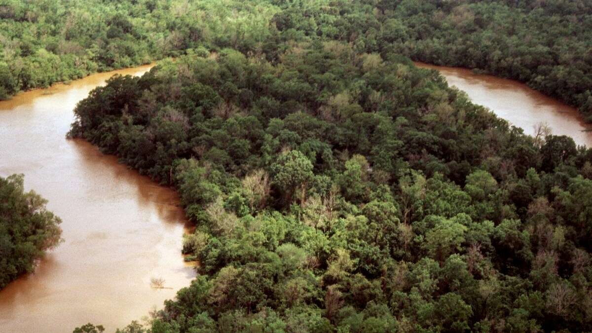 When Hurricane Laura hit the Texas-Louisiana border last week, the water and wind caused something strange to occur- the Neches River started flowing backwards.