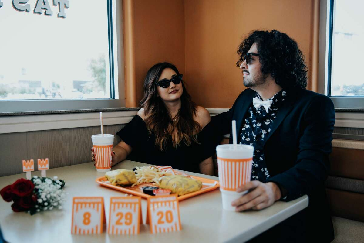 Although the couple had to delay their event, Siprian said having the photoshoot at Whataburger was special, as it was the first fast food joint the two ate at together.