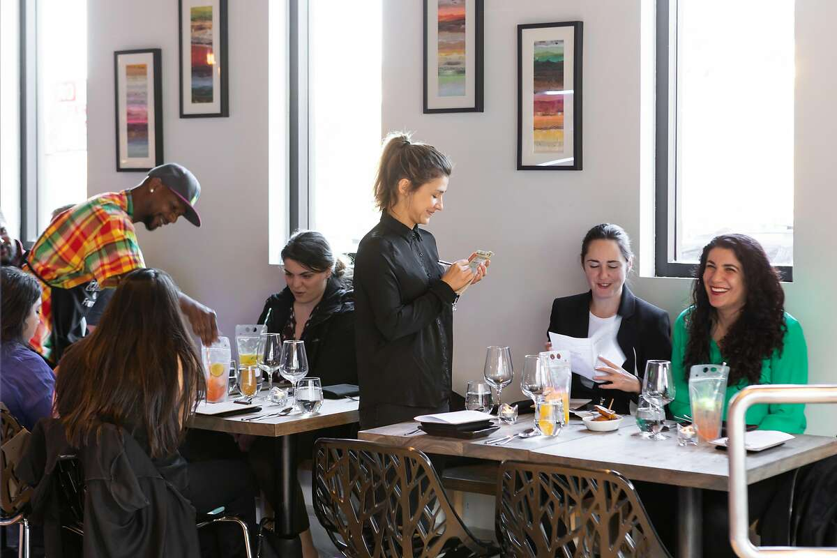 Diners ordering their meal at Francisca's in 2019.