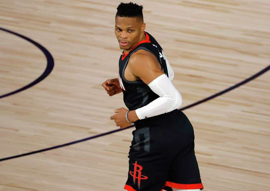 Houston look like a completely different team with Russell Westbrook back in the starting lineup. Photo: Kevin C. Cox /Getty Images / 2020 Getty Images