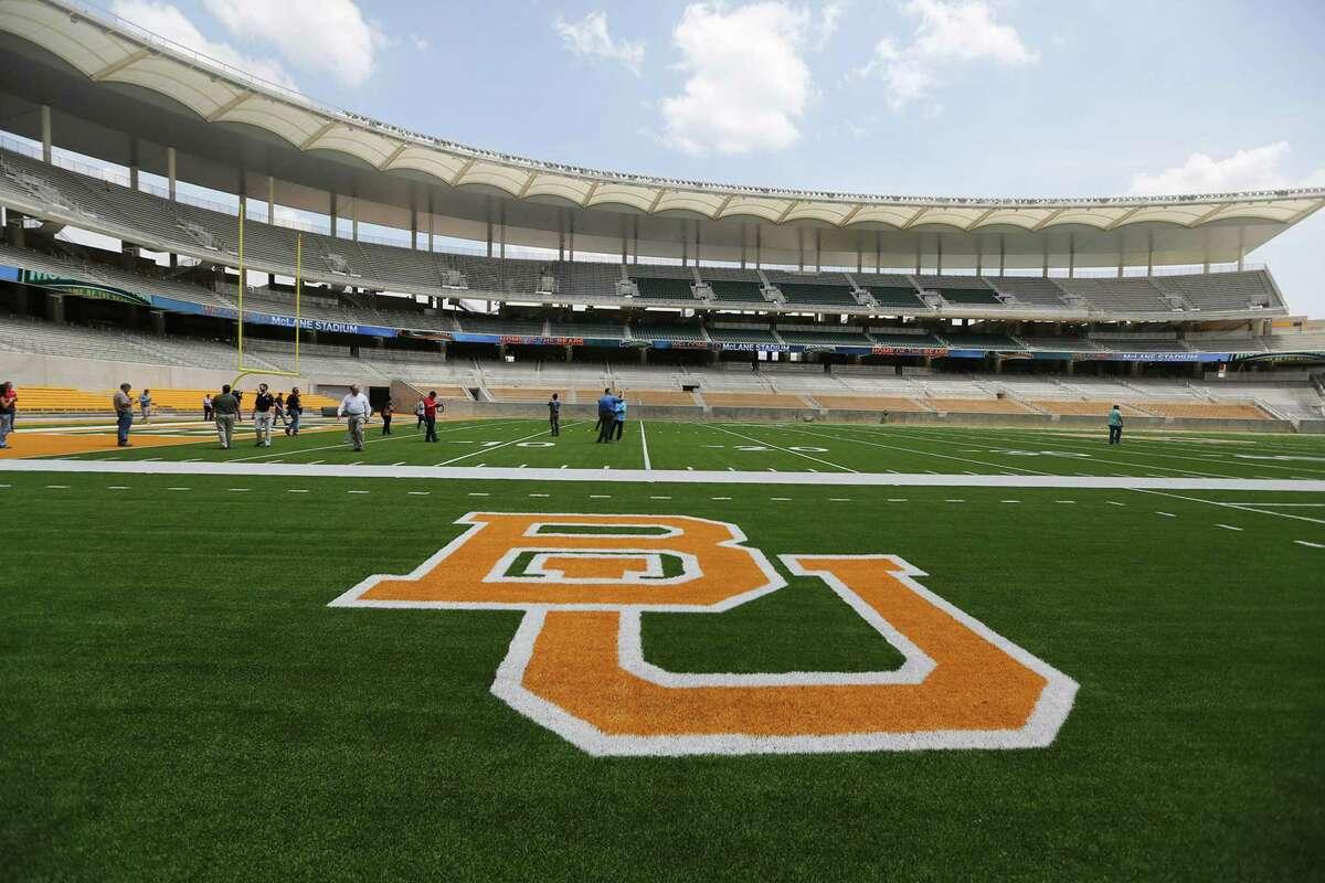 This Aug. 18, 2014, file photo, shows McLane Stadium at Baylor University in Waco, Texas.