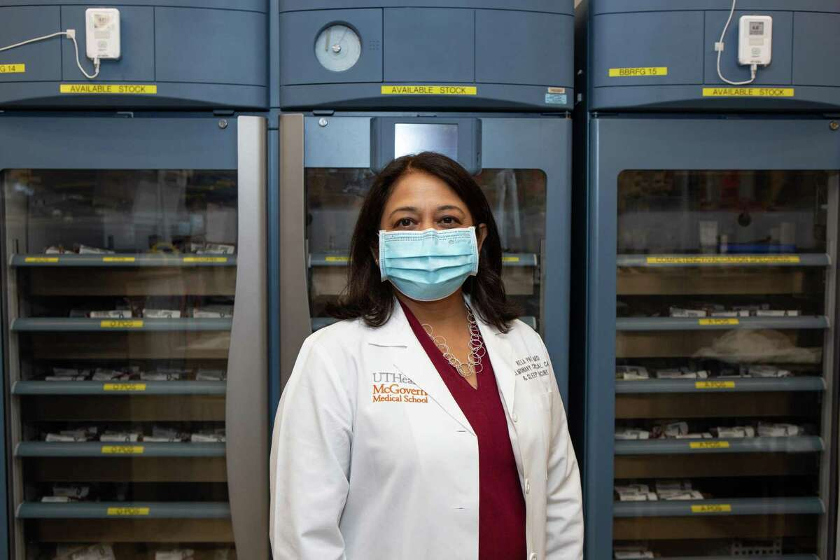 Dr. Bela Patel, director of critical care with UTHealth and Memorial Herman, is part of the research team looking into the effectiveness of convalescent plasma.