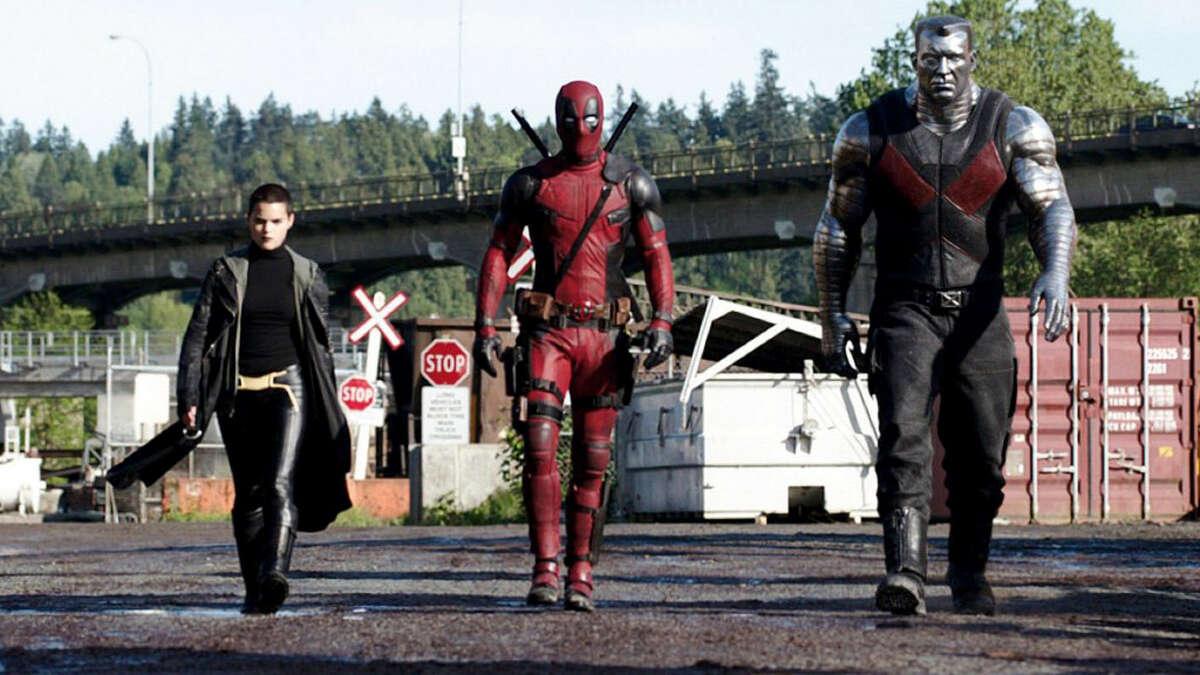 Deadpool (Ryan Reynolds) turns to temporary sidekicks Negasonic Teenage Warhead (Brianna Hildebrand) and Colossus (voiced by Stefan Kapicic) for help in