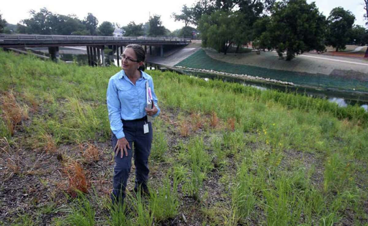 Lee Marlowe is a natural resource management specialist for the river authority.
