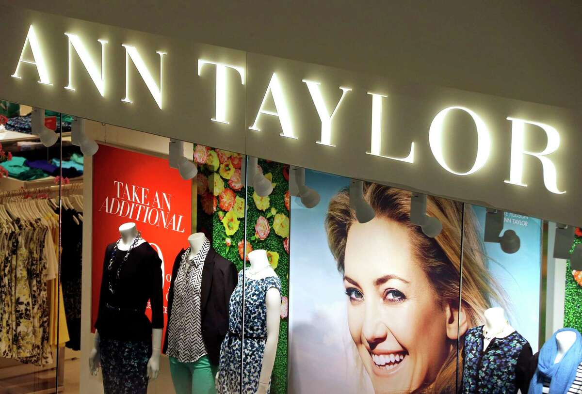 FILE - This March 5, 2013 file photo shows an Ann Taylor store in Mount Lebanon, Pa. A slew of once-beloved brands from Lord & Taylor to Ann Taylor have filed for Chapter 11 since the pandemic. Many shoppers will see these iconic labels vanish or become mere shadows of themselves as they drastically shrink their businesses or get acquired. But while loyal customers bemoan their loss, the brands themselves have been clearly losing favor for year. (AP Photo/Gene J. Puskar, File)