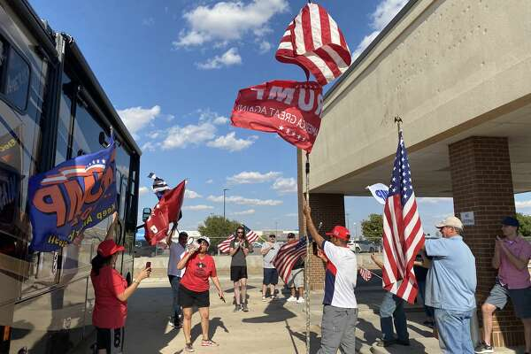 """""""Latinos for Trump"""" rally was recently held on Midland's south side."""