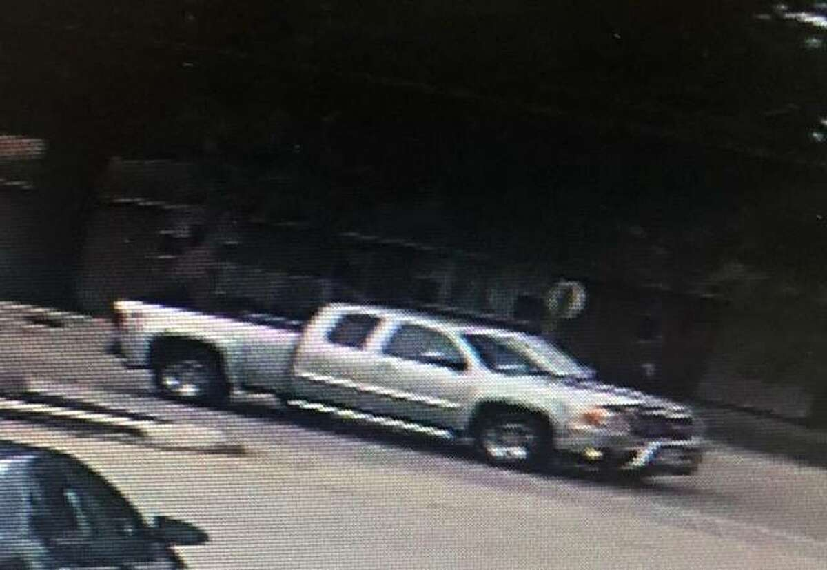 The Madison County Sheriff's Office released this photo of a pickup truck sought in connection to a fatal hit-and-run of a child Monday afternoon in Godfrey. The truck was located Monday night and a person of interest was taken into custudy.