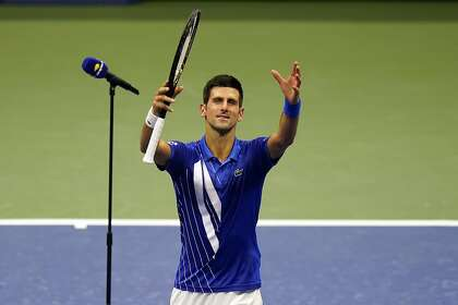 Right On Time Novak Djokovic Questions Open Clock On Way To 24 0 Sfchronicle Com
