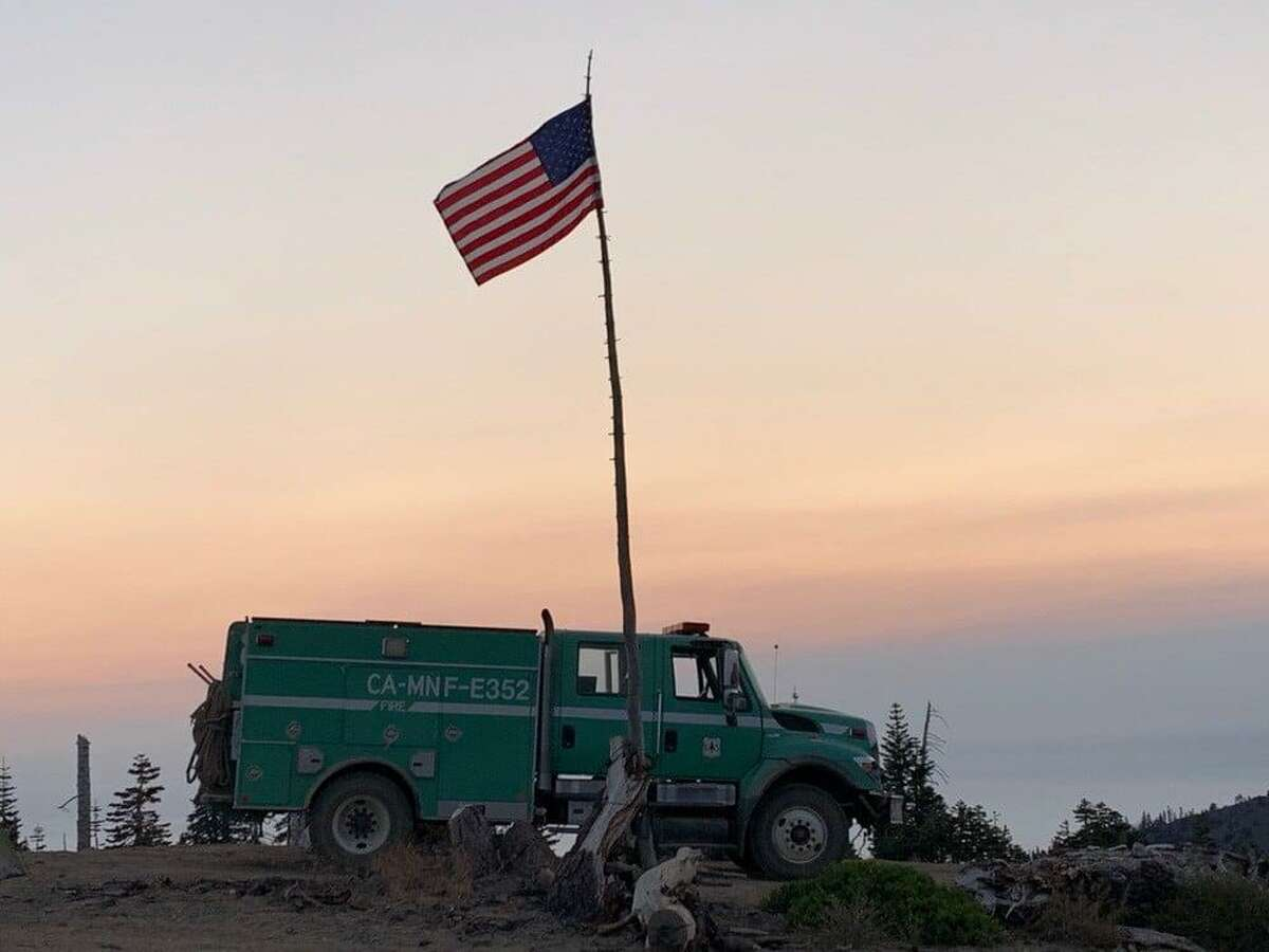A firefighter was killed and another injured Aug. 31 battling the August Complex fires in Mendocino County.