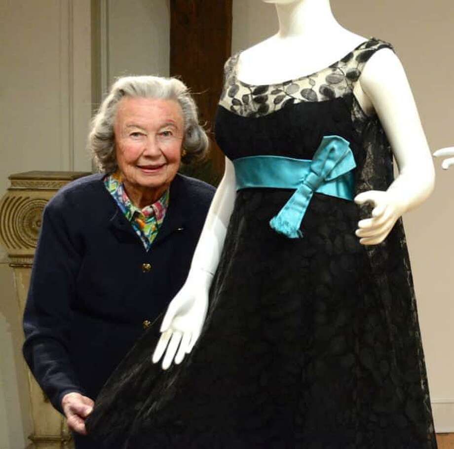 Museum of Darien's longtime costume curator Babs White has announced her retirement after nearly half a century. Photo: Contributed