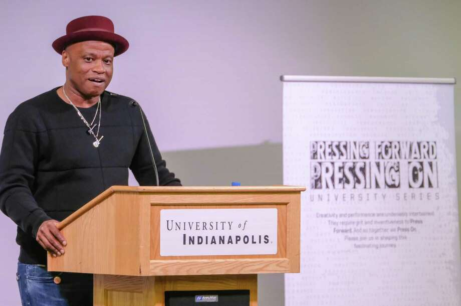 """Randall Horton's new collection of poetry, """"#289-128,"""" examines life during and after prison. Photo: Randall Horton / Contributed Photo / ©2019 University of Indianapolis, all rights reserved."""