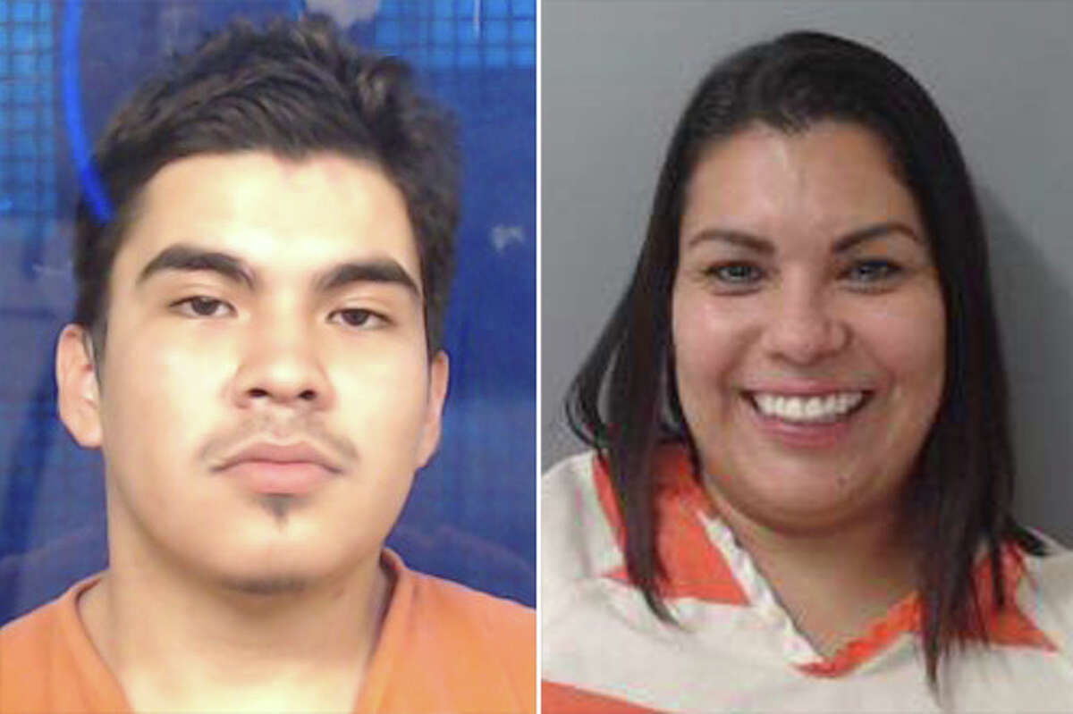 Two people landed behind bars for allegedly assaulting a security officer at a local Tacos Kissi.