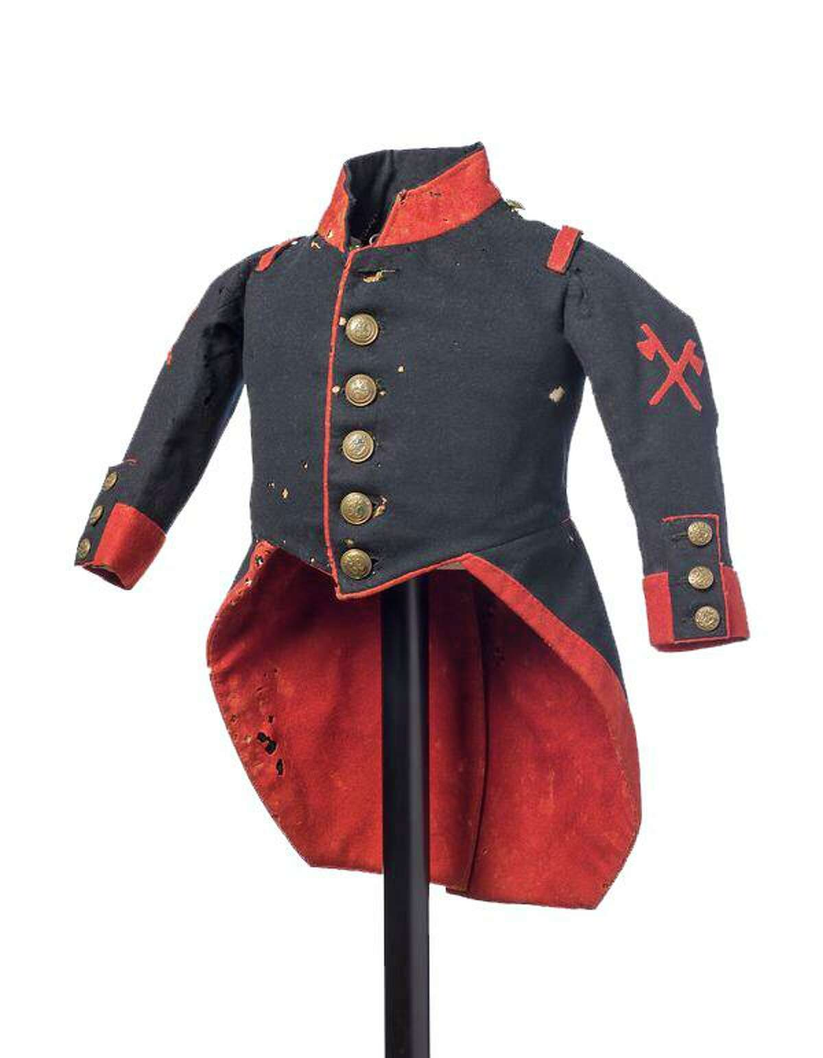 Barnum Museum curatorAdrienne Saint-Pierre said one her favorite items in the collection is a jacket worn by Gen. Tom Thumb.