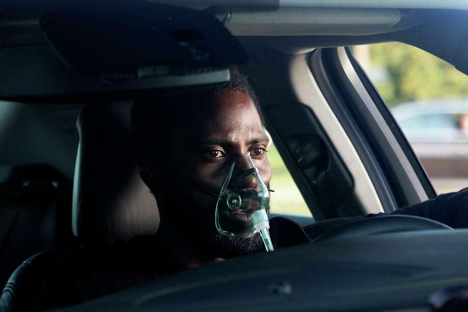 """John David Washington in """"Tenet."""" Photo: Melinda Sue Gordon / Warner Bros. Pictures / Warner Bros. Pictures"""