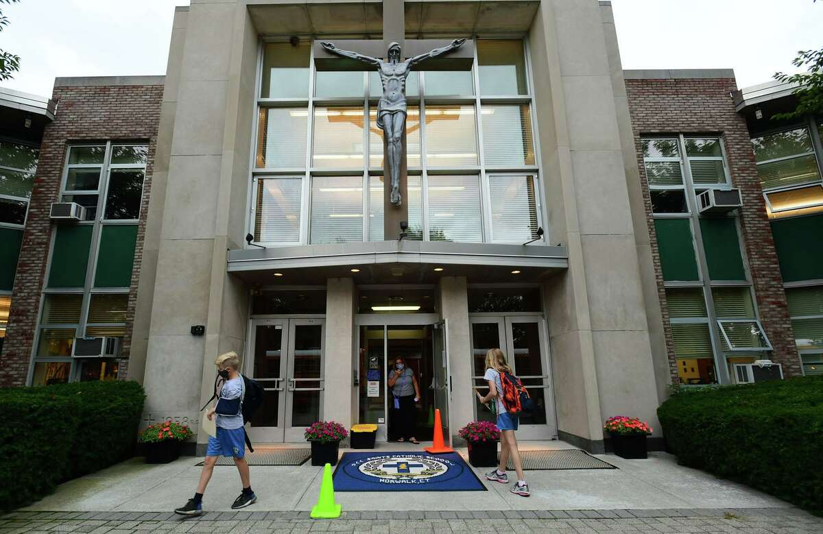 All Saints Catholic School switched to remote learning Monday for all grades. Students in preschool through third grade and one fourth grade class will return to the classrooms on Wednesday.