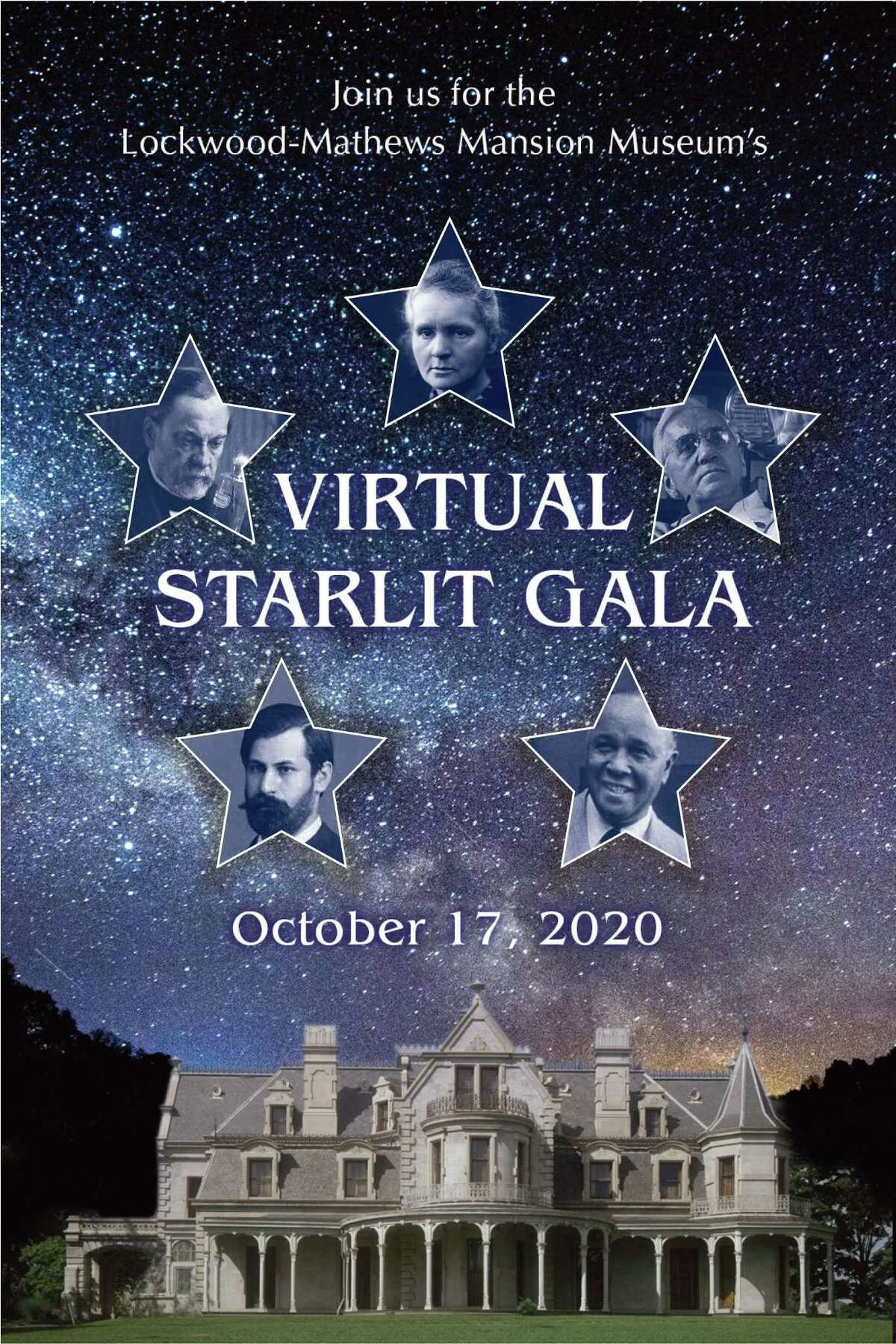 The Lockwood-Mathews Mansion Museum's Oct. 17 virtual Starlit Gala will honor David Westmoreland, a longstanding supporter of LMMM and its preservation. Tickets are $50 to $100.