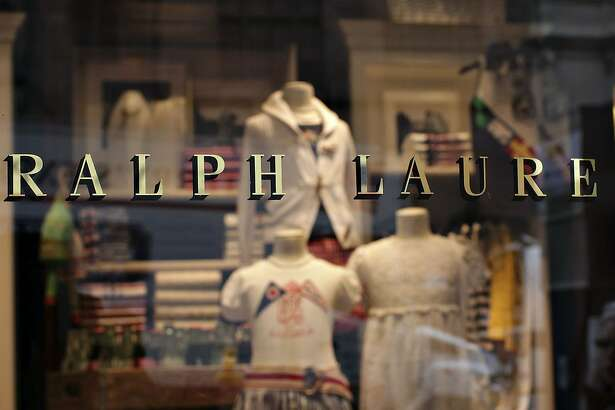 Ralph Lauren clothing sits on display inside a New York store in 2009. MUST CREDIT: Bloomberg photo by Daniel Acker