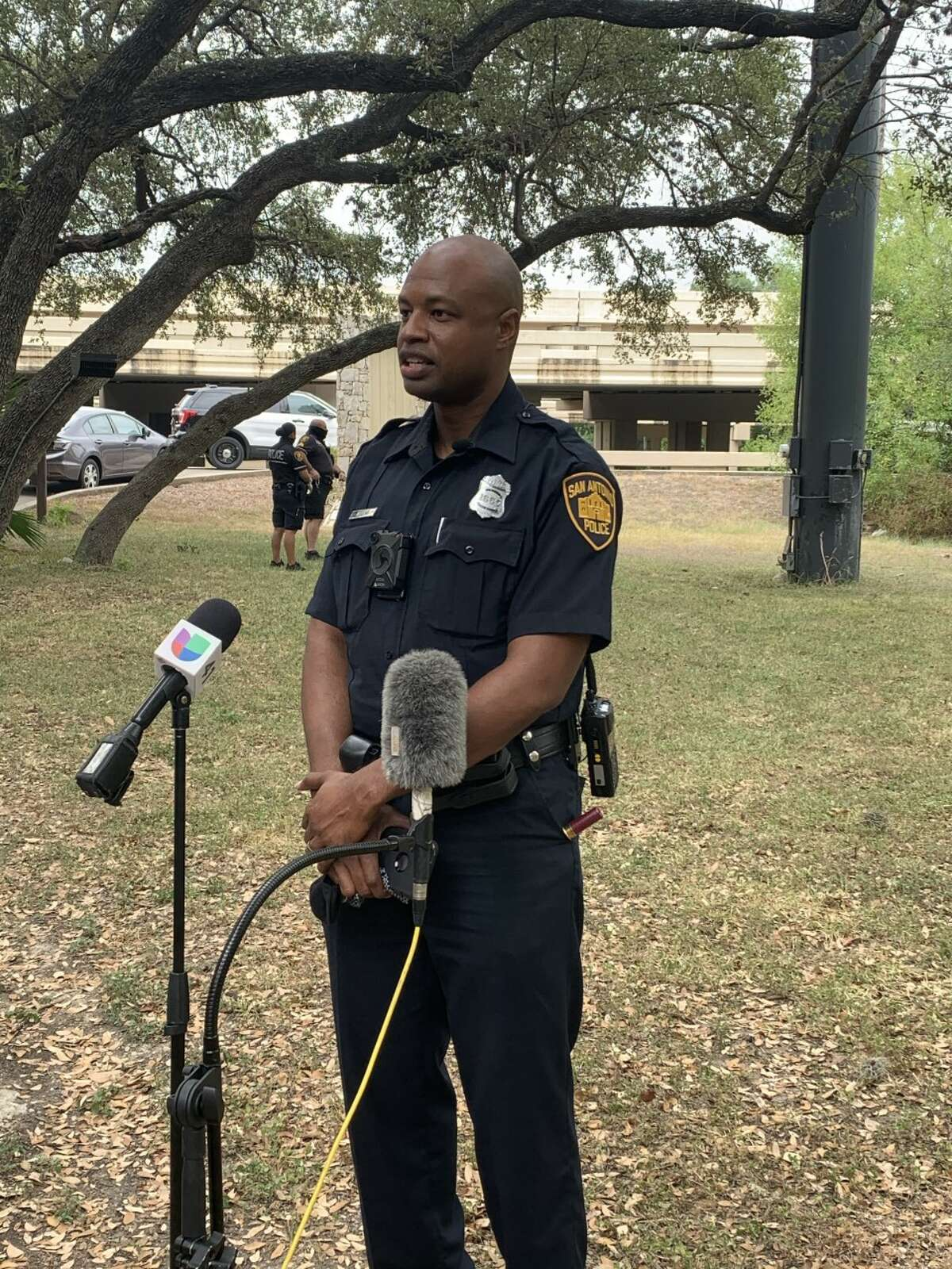 San Antonio police are trying to determine if foul play was involved after a body was found next to Salado Creek Tuesday morning.