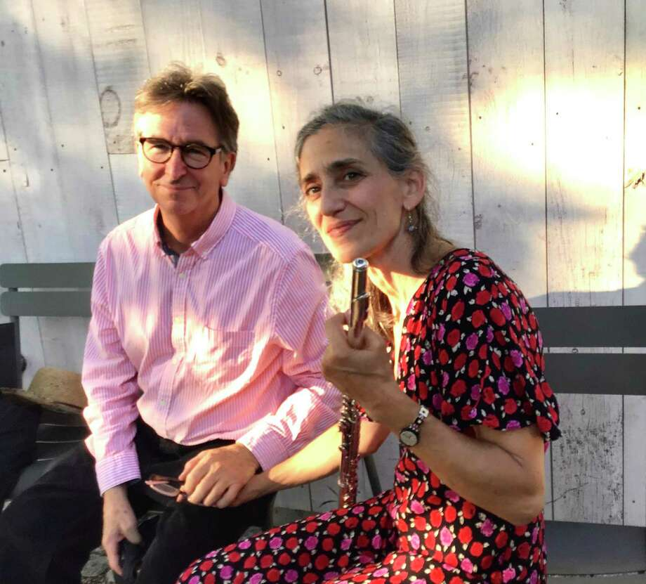 Sherman Chamber Ensemble Artistic Director Eliot Bailen, cellist, and his wife, Susan Rotholz, flutist, will be among the musicians to perform in a Sept. 12 concert that will celebrate Beethoven. Photo: Sherman Chamber Ensemble