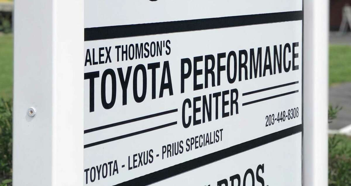 The Toyota Performance Center is located at 453 Danbury Road in New Milford, an auto repair shop.