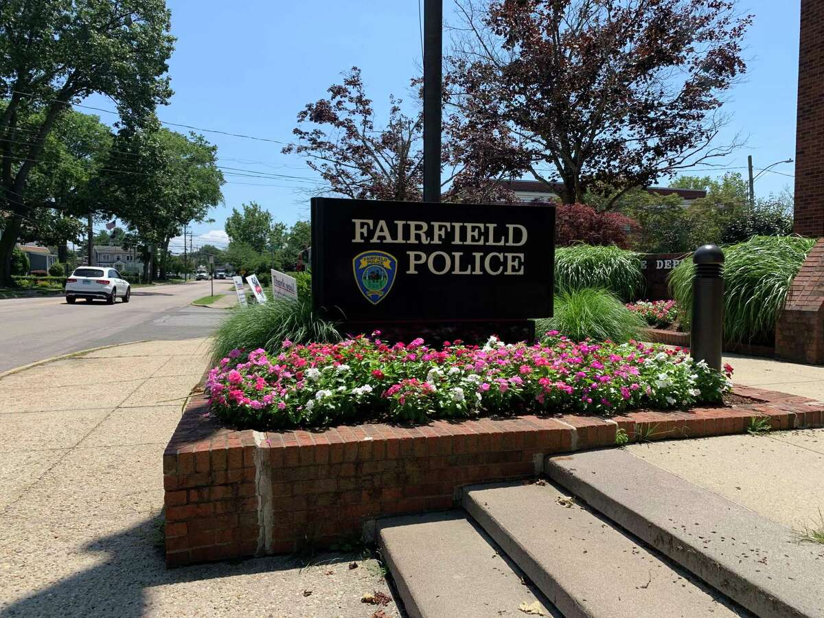 The Fairfield Police Department Headquarters on Reef Road.