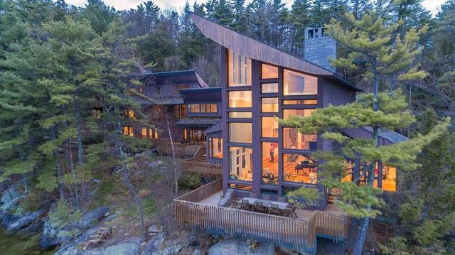 $10M Lakefront Escape Is New Hampshire's Most Expensive Home thumbnail