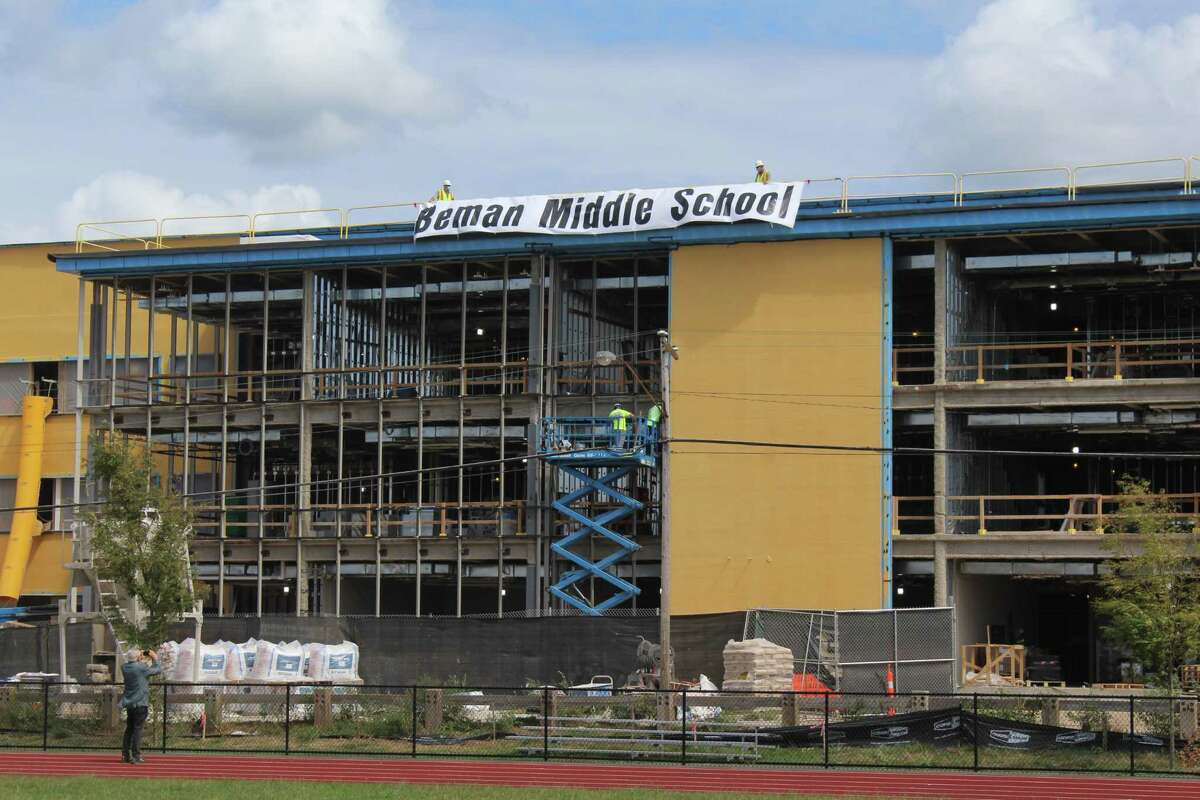 The new Beman Middle School in Middletown