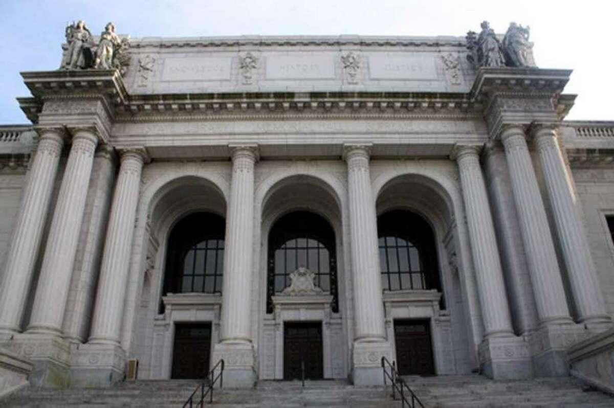The state Supreme Court in Hartford.