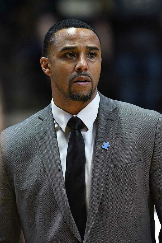 Kevin Freeman, shown here while at Penn State, has returned to coach at UConn as an assistant. Photo: Icon Sportswire / Via Getty Images / ©Icon Sportswire (A Division of XML Team Solutions) All Rights Reserved ©Icon Sportswire (A Division of XML Team Solutions) All