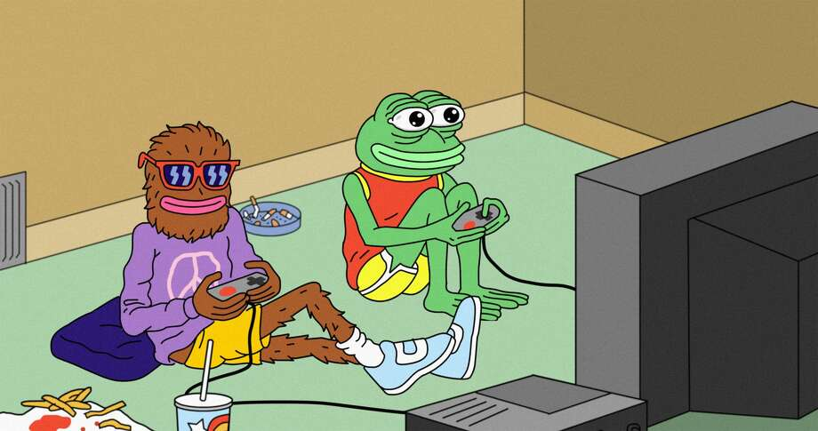 """""""Feels Good Man"""" is a documentary the follows the evolution of Pepe the Frog, from a comic character created in the Mission to a hate symbol. Photo: Courtesy Of Feels Good Man"""