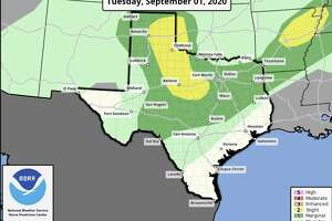 San Antonio could see some thunderstorm and shower activity late tonight through Wednesday morning.