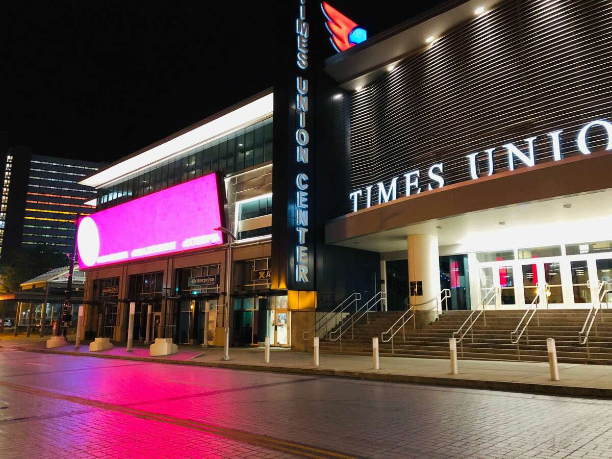 Times Union Center has not been host to an entertainment event since March 8, 2020, because of the COVID-19 pandemic. (Gary Hahn/Times Union)