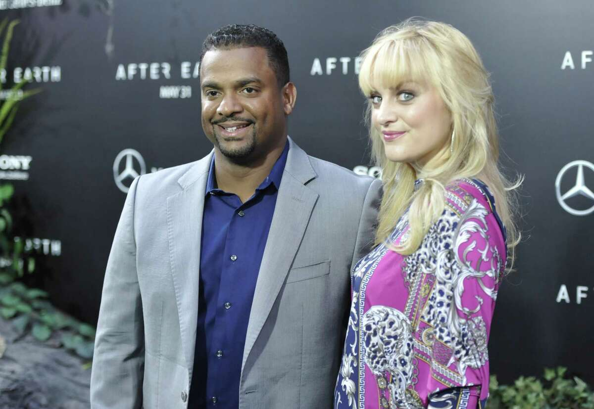 Actor Alfonso Ribeiro and his wife Angela attend the