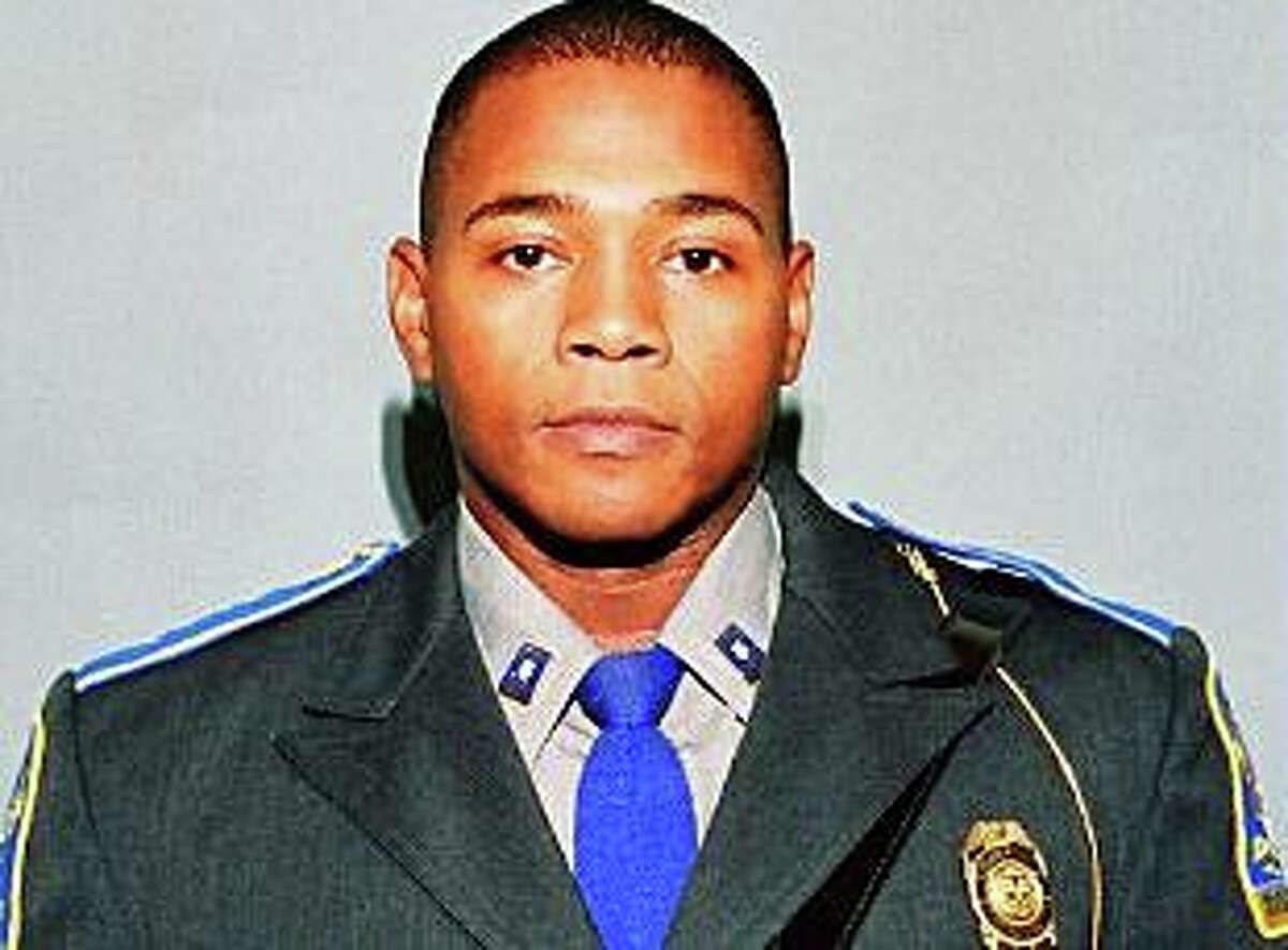 Connecticut State Police Trooper First Class Kenneth Hall. He died after his cruiser was hit by a driver on the highway while Hall was making a routine traffic stop in Enfield, Conn., on Sept. 2, 2010.