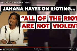 Republican David X. Sullivan, of New Fairfield, drew on fears of lawlessness and rioters in his first campaign ad which dropped Tuesday on YouTube. Sullivan is challenging U.S. Rep. Jahana Hayes, D-5th.