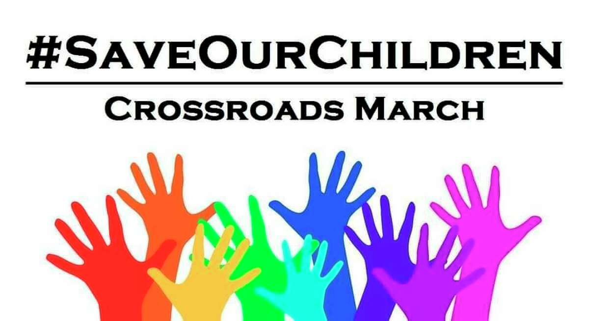 Set to take place from noon to 6 p.m. Sunday, beginning at the Reed City Depot, the #SaveOurChildren march will take place both in Reed City, and in Cadillac at a later date.(Courtesy photo)