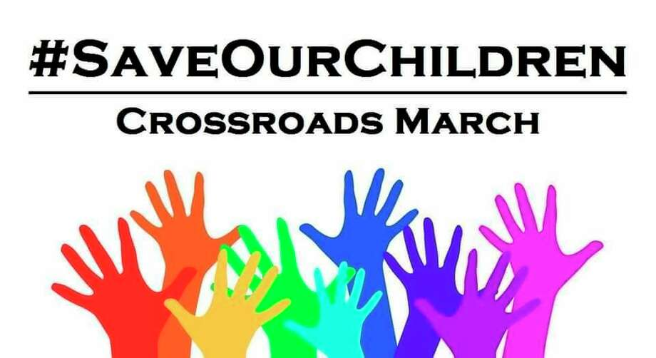 Set to take place from noon to 6 p.m. Sunday, beginning at the Reed City Depot, the #SaveOurChildren march will take place both in Reed City, and in Cadillac at a later date. (Courtesy photo)