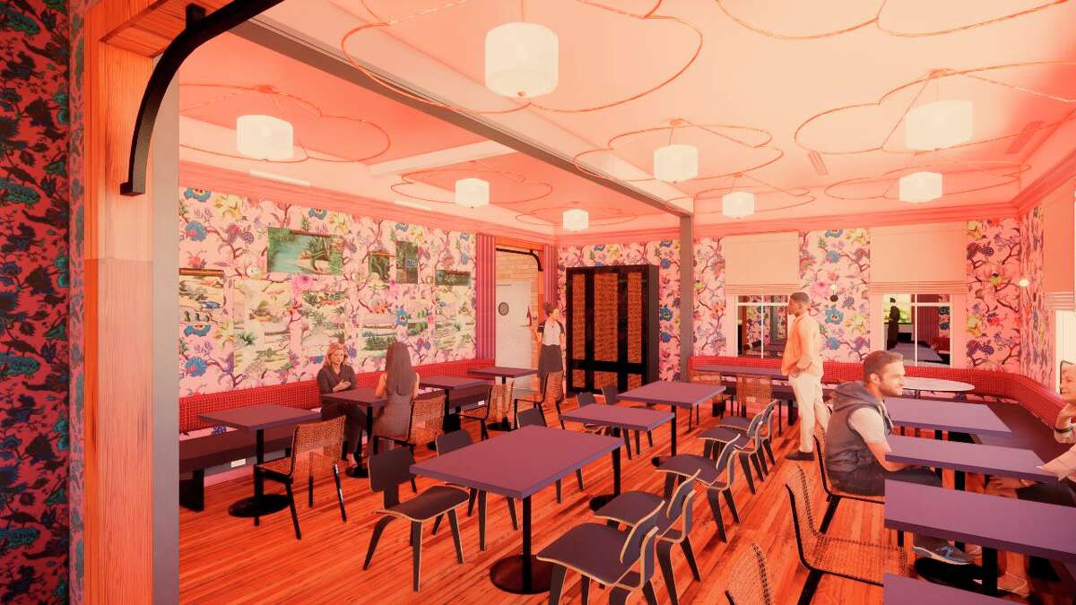 Lake | Flato Architects designed the interior spaces at Best Quality Daughter, an Asian-American restaurant scheduled to open in November at the Pearl.