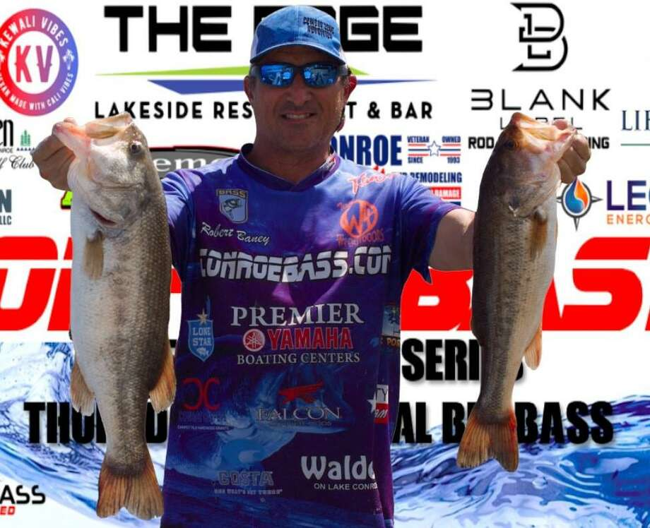Robert Baney won the CONROEBASS Thursday Big Bass Championship with a weight of 11.78 pounds. Photo: CONROEBASS