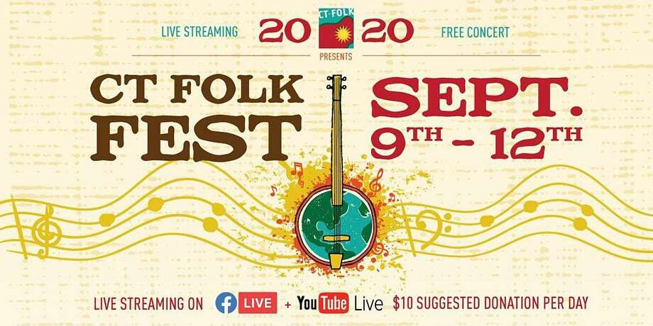 CT Folk's Virtual CT Folk Fest & Green Expo is Sept. 9-12 and features Keller Williams, Ruthie Foster, Special Musical Guest Dom Flemons, Buffalo Rose, Among the Acres, Phat A$tronaut, Bumper Jacksons, John John Brown, Monica Rizzio, Diana Alvarez, Golden Oak, Grassy Hill Songwriting Competition and more. Photo: Eventbrite.com