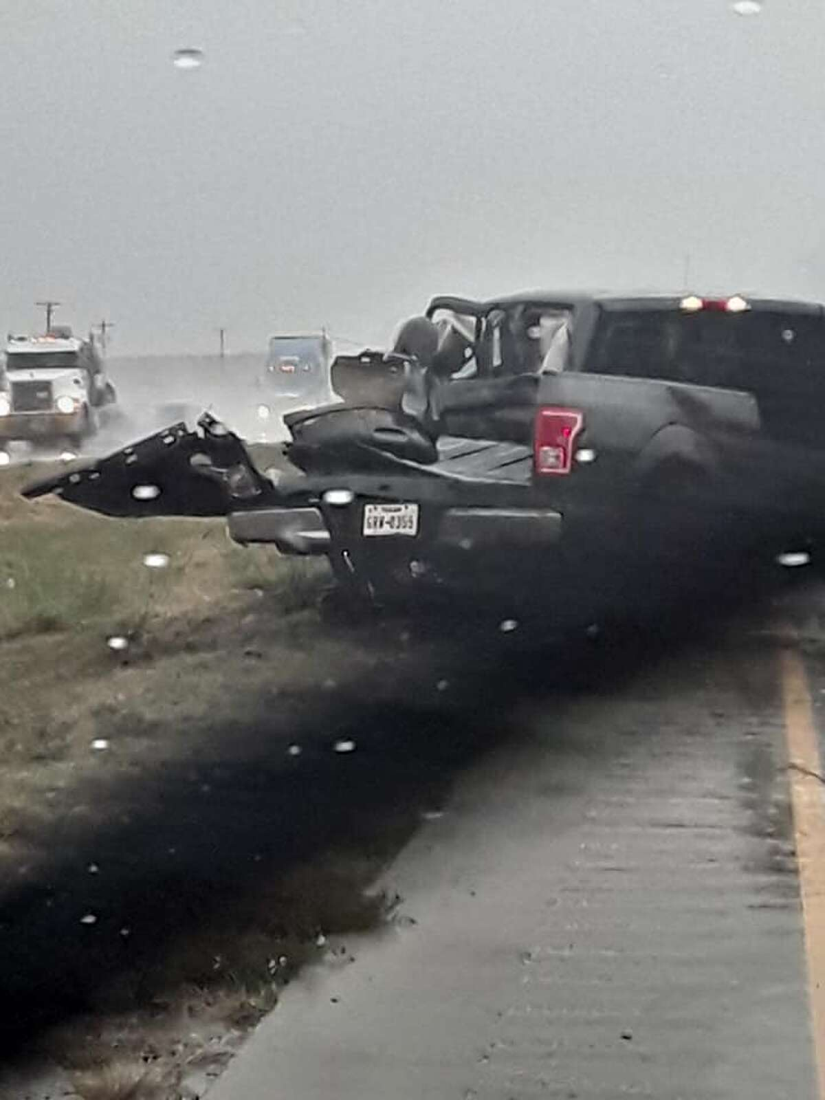 Multiple people sustained unknown injuries resulting from a crash south of Hale Center on Wednesday morning.